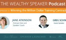 [Podcast] Winning the Million Dollar Training Contract with Greg Schinkel